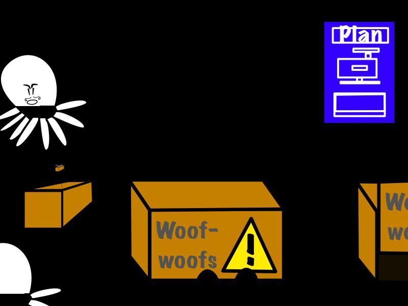 Boxes atop boxes